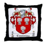 Cummins Family Crest Throw Pillow