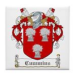 Cummins Family Crest Tile Coaster