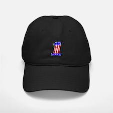 USA 1 VINTAGE CHROME EMBLEM Baseball Hat