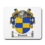 Cusack Family Crest Mousepad