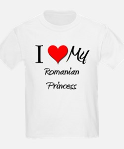 I Love My Romanian Princess T-Shirt
