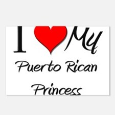I Love My Puerto Rican Princess Postcards (Package