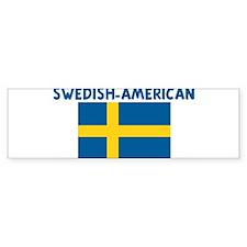 SWEDISH-AMERICAN Bumper Bumper Sticker