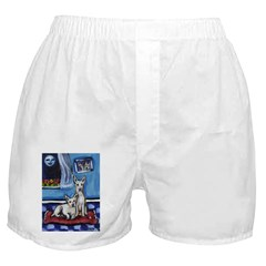 CANAAN DOG art Boxer Shorts