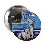 CANAAN DOG art Button