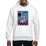 CANAAN DOG art Hooded Sweatshirt