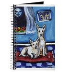 CANAAN DOG art Journal