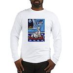 CANAAN DOG art Long Sleeve T-Shirt
