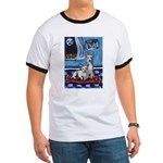 CANAAN DOG art Ringer T