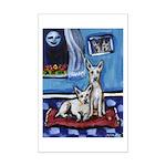 CANAAN DOG art Mini Poster Print