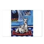 CANAAN DOG art Postcards (Package of 8)