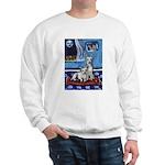 CANAAN DOG art Sweatshirt