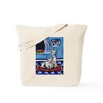 CANAAN DOG art Tote Bag