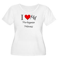 I Love My Portuguese Princess T-Shirt