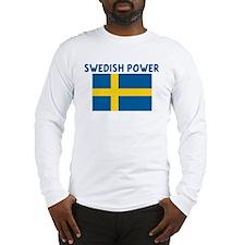 SWEDISH POWER Long Sleeve T-Shirt