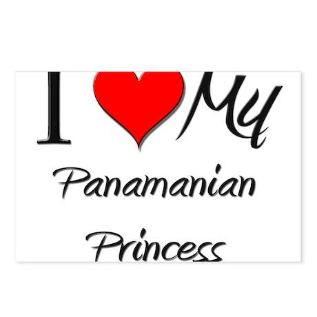 I Love My Panamanian Princess Postcards (Package o