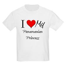 I Love My Panamanian Princess T-Shirt