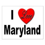 I Love Maryland Small Poster