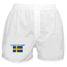 SWEDISH HUSBAND Boxer Shorts
