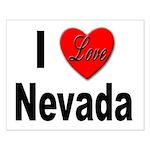 I Love Nevada Small Poster
