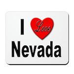 I Love Nevada Mousepad
