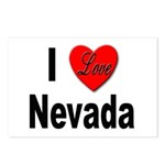 I Love Nevada Postcards (Package of 8)