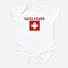 SWISS POWER Infant Bodysuit