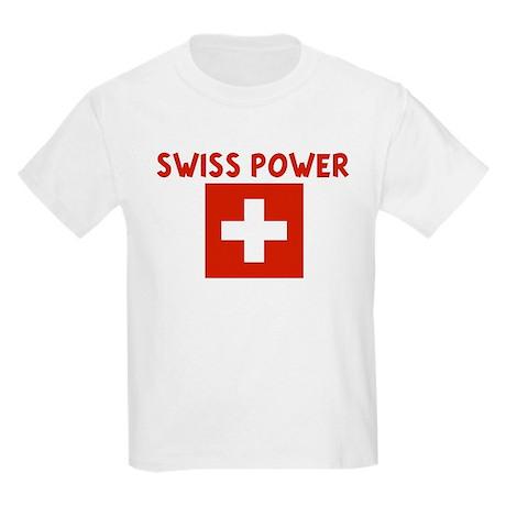 SWISS POWER Kids Light T-Shirt