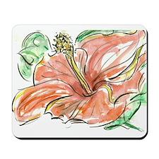 Mousepad - Orange Flower