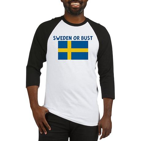 SWEDEN OR BUST Baseball Jersey