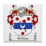 Delany Family Crest Tile Coaster