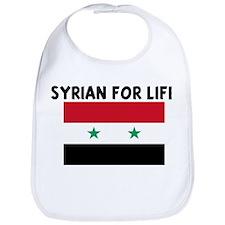 SYRIAN FOR LIFE Bib
