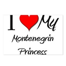 I Love My Montenegrin Princess Postcards (Package