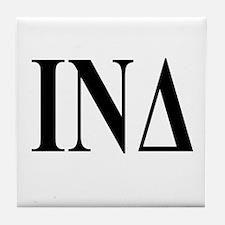 IOTA NU DELTA Tile Coaster