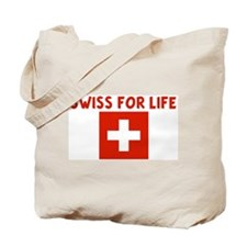 SWISS FOR LIFE Tote Bag