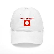 SWISS FOR LIFE Baseball Cap