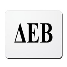 DELTA EPSILON BETA Mousepad
