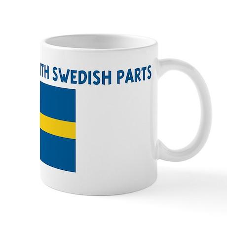 MADE IN AMERICA WITH SWEDISH Mug