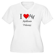 I Love My Moldovan Princess T-Shirt