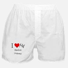 I Love My Mexican Princess Boxer Shorts