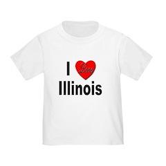 I Love Illinois T