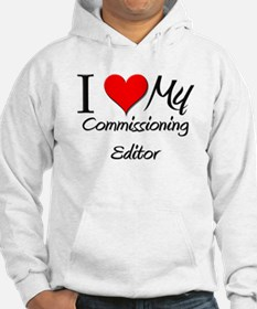 I Heart My Commissioning Editor Hoodie