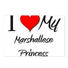 I Love My Marshallese Princess Postcards (Package