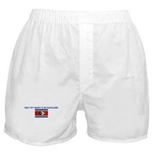HALF MY HEART IS IN SWAZILAND Boxer Shorts