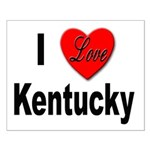 I Love Kentucky Small Poster