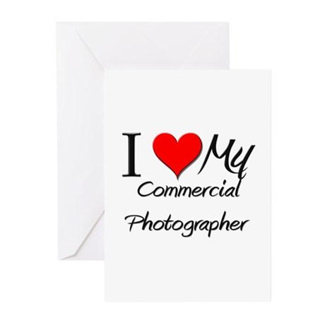 I Heart My Commercial Banker Greeting Cards (Pk of