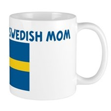 I LOVE BEING A SWEDISH MOM Mug