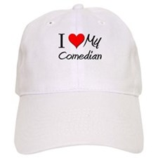 I Heart My Comedian Baseball Cap