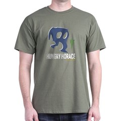 Hungry Horace Military Green T-Shirt