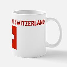 I LEFT MY HEART IN SWITZERLAN Mug